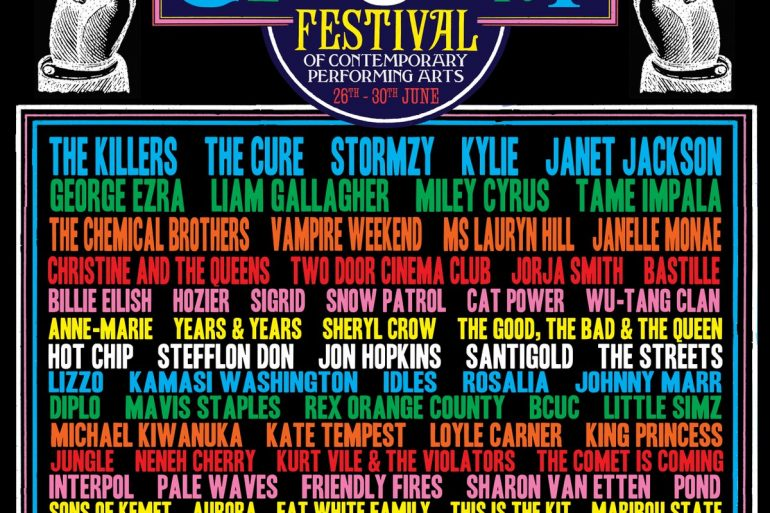 glastonbury 2019 intera line up
