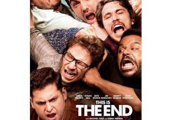 this is the end film locandina