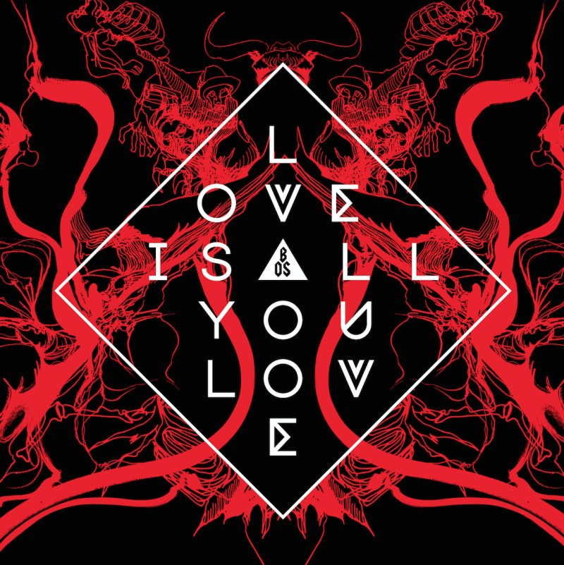 band of skulls love is all you love album cover