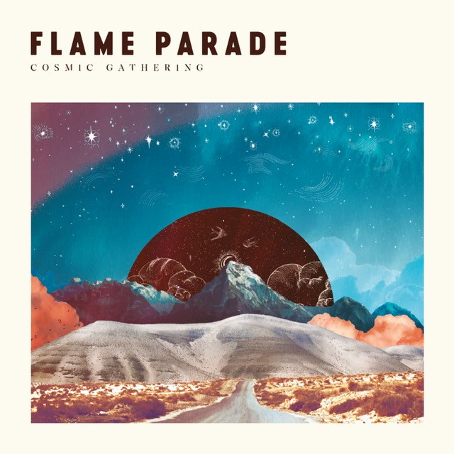 flame parade cosmic gathering album cover